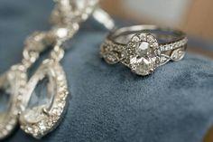 Celebrating Wedding Ring Wednesday with diamond gorgeousness!