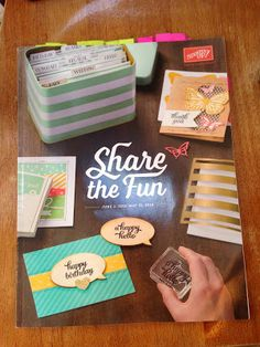 Inspired Stamping by Janey Backer: In Colors 2015-2017, Catalog and Stamp Sneak Peek, Stampin' Up!