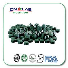 500mg x 90 pills Spirulina Tablet plant extract Dietary Supplement Anti-fatigue Keep Body Slim Free shipping