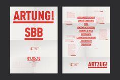 Artung!, communication visuelle | 2009-2013 - Frédéric Held | Graphisme & Typographie