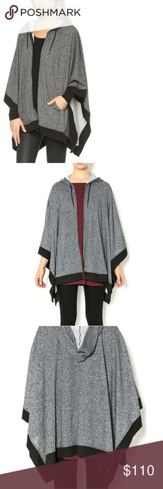 PRICED TO SELL! Soft Joie Zip Up Poncho PRICED TO SELL TODAY ONLY! 11/03  Trendy and Warm, Joie Creates a Versatile Poncho. Fits gorgeously and creates an amazing silhouette!  Size is M/L 🌻Make An Offer! Joie Jackets & Coats