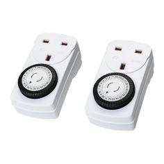 IKEA TANDA - Timer, 24 hours, indoor, earthed white / 2 pack Ikea http://www.amazon.co.uk/dp/B00GMM5960/ref=cm_sw_r_pi_dp_pJwcvb133FM1V