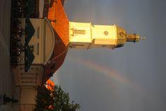Rainbow over Bialystok