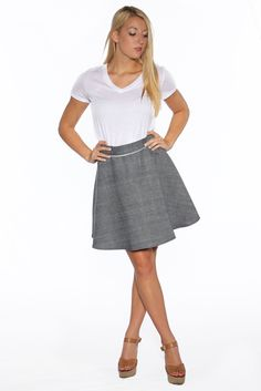 Marc Nelson Denim Women's Selvedge Chambray Circle Skirt
