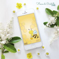 0617_per giugno ho pensato ad una apetta 🐝 , mi si sono rivista in lei, con tutto il super lavoro che stanno facendo volando di fiore in fiore🌼🌸🌼..e poi adoro il miele 🍯 !! 📲Scaricarlo gratuitamente per il tuo cellulare!!