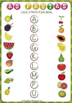 Alphabet Worksheets, Kindergarten Worksheets, Classroom Activities, Toddler Activities, English Words, Kids Nutrition, Kids Education, School Projects, Teaching