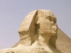 Giza sphinx in Cairo Egypt