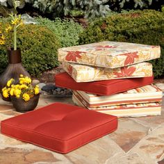 Outdoor wicker furniture cushions – As part of both indoor and outdoor areas. Wicker furniture is . Bench Cushions Outdoor, Outdoor Chair Pads, Wicker Furniture Cushions, Garden Cushions, Outdoor Wicker Furniture, Patio Furniture Covers, Patio Chairs, Outdoor Chairs, Furniture Decor