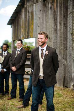 Fall groomsmen attire ideas casual outdoor weddings dress shirts country style groomsmen attire ideas junglespirit Images