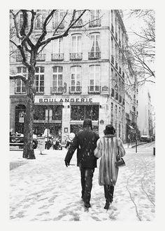 A walk in Paris.