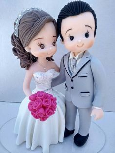 Fine Porcelain China Diane Japan Value Code: 8819186935 Clay Projects, Clay Crafts, Diy And Crafts, Polymer Clay Cake, Polymer Clay Dolls, Fondant People, Unusual Wedding Cakes, Wedding Cards Handmade, Cake Business