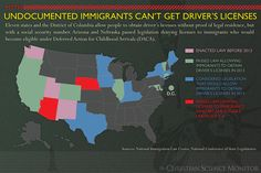 Myth: Undocumented immigrants can't get driver's licenses