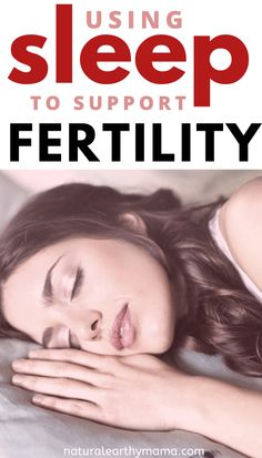 Stress and poor sleep can lower your fertility. Improve your fertility naturally with these helpful ideas.