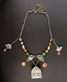 Collar amuleto antiguo de China 5a0e5a5ce803