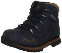 Timberland Hiker_Hiker_Euro Rock Hiker, Unisex-Kinder Kurzschaft Stiefel, Blau (Navy), 34 EU - http://on-line-kaufen.de/timberland/34-eu-timberland-euro-hiker-ftc-unisex-kinder