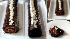 A piskótatekercs egy nagyon gyorsan elkésztíhető, mégis elég látványos desszert. Ez egy glutén- és laktózmentes változat, amit a csoki glaze tesz igazán ünnepivé. Szülinapi torta helyett készült a sógoromnak. Pillanatok alatt elfogyott. A piskótában liszt helyett holland kakaópor van, és egy…