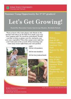 Flyer- Let's get growing