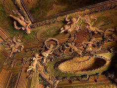 Stuccowork probably by Abbondio Stazio of Massagno | Bedroom from the Sagredo Palace | Italian, Venice | The Metropolitan Museum of Art