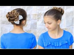 Rope Twisted Bun..a great prom or wedding undo.  Also great for dancers! #hairstyles #hairstyle #prom #updo #dancehair #longhair #cutegirlshairstyles #CGHropetwistbun