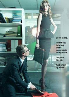 suit business Female domination