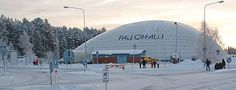 kajaani pallohalli Finland, Gate, Clouds, Snow, Places, Travel, Outdoor, Outdoors, Viajes
