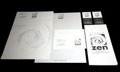 Studio Zen Corportae Identity by CREA OFFICINA