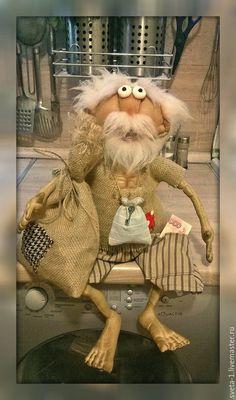Ароматизированные куклы ручной работы. Ярмарка Мастеров - ручная работа. Купить кофейный домовой. Handmade. Бежевый, семейный очаг