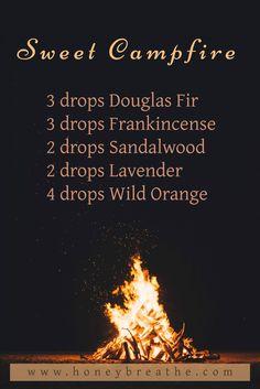 Diffuser Blend | DoTERRA | Essential Oils | Fall Blend | Honey Breathe | Fir | Frank | Frankincense | Sandalwood | Lavender | Wild Orange | Diffuser Blend