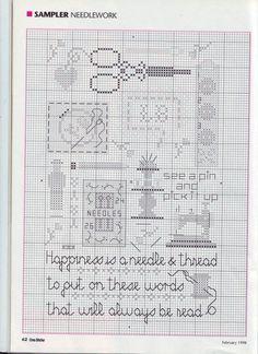 Needle & thread - cross stitch
