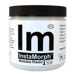 InstaMorph is an advanced modeling compound that melts in hot water or air (140 deg F) and solidifies at room temperature. When warm, it acts like clay, but when it cools it resembles a strong plastic. Unlike other products that once they dry they are locked in that shape forever, InstaMorph can be reheated over and over again and re-molded into any number of configurations.  Make exciting art projects at school or at home. Good reviews on Amazon.