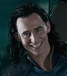 I absolutely love the smile. Loki has one of the most beautiful smile's in all the nine realms. It lights up the universe.