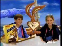 Nesquik : Pieuvre (1997) Nesquik, Monsters, Room Ideas, Death, Bunny, Milk, Chocolate, Youtube, Octopus
