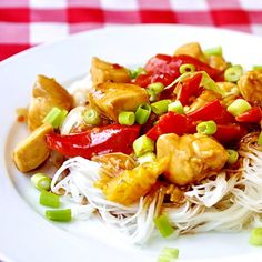 Spicy Stir Fried Orange Chicken - looking for a quick and delicious Monday dinner? You're welcome.