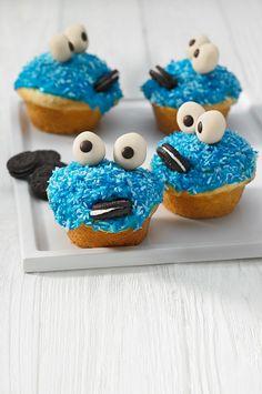 Krümelmonster-Muffins - sind die nicht süß?
