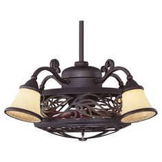 Add a breath of fresh air to your home dcor with this handsomely crafted ceiling fan, the perfect finishing touch to your den, kitchen, and three seaso...