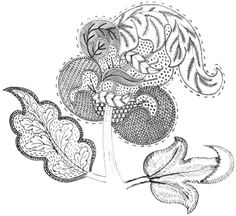 Jacobean Embroidery Design – Needle'nThread.com ~ plus many additional patterns for embroidery