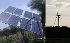 """Solar vs Wind Power Generation  Homesteading  - The Homestead Survival .Com     """"Please Share This Pin"""""""