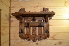 Вешалка настенная под старину с кованными крючками, цена 1 350 грн., купить в Житомире — Prom.ua (ID#132043987)