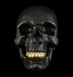 black,gold,photography,skull,anatomy,kidrobot