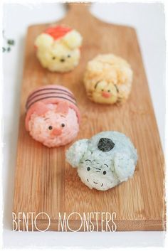 Winnie the Pooh and friends Tsum Tsum bento