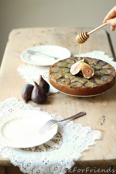 Orange & Cardamom Spiced / Honey'd Fig / Olive Oil Tea Cake