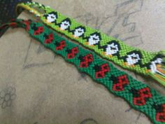*all* kinds of friendship bracelet patterns! Ohmygosh some of these patterns are AMAZING! :D