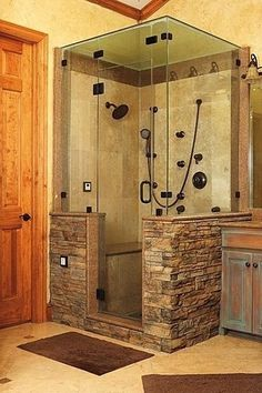 Love the steam room in the shower!!!!