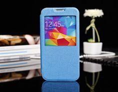 Θήκη Preview Window Flip Case OEM Μπλε (Samsung Galaxy S5) - myThiki.gr - Θήκες Κινητών-Αξεσουάρ για Smartphones και Tablets - Χρώμα γαλάζιο Samsung Galaxy S5, Phone Cases, Iphone, Window, Windows, Phone Case