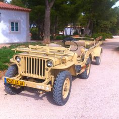 Jeep Willys. Madrid