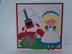 Painting the Roses Red, Cut Files from Miss Kate Cuttables.