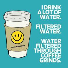drink coffee meme