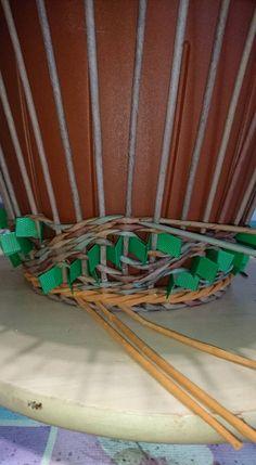 Плетеная ажурная вазочка. МК в фотографиях | oblacco