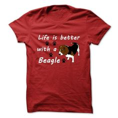 Life Is Better With A Beagle T-Shirt Hoodie Sweatshirts uie. Check price ==► http://graphictshirts.xyz/?p=104118