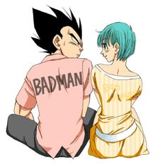 Vegeta and Bulma